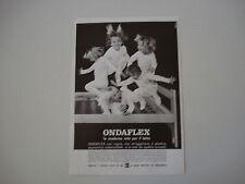 advertising Pubblicità 1971 RETE PER LETTO ONDAFLEX