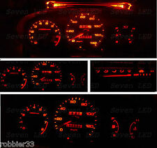 REd Honda Civic EK  96-98 Gauge Cluster Climate Control LED KIT