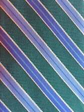 """BROOKS BROTHERS EUC UK woven Silk Tie Made in USA Multi-color Striped 61½"""" x 3¾"""""""