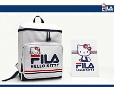 FILA x Hello Kitty Backpack White School Bag Sanrio New