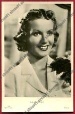 LAURA SOLARI 12 TRIESTE - ATTRICE ACTRESS ACTRICE CINEMA MOVIE 1939 REAL PHOTO