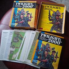 Twilight 2000 2nd ed. rpg box set HARD TO FIND GDW
