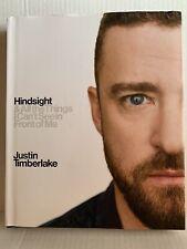 Hindsight by Justin Timberlake Biography Book Music Hardcover Hardback