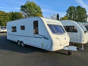 Quality Used 2007 Ace Supreme Twinstar - Twin Axle, 4 Berth, Fixed Double Bed