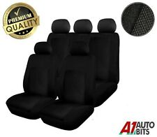 Ford Fiesta Focus Mondeo Fusion Ka Sporty To Fit Car Seat Covers In Black 2