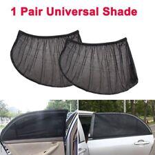 2X Black Baby Car Window Sun Shade Visor Screen Protection Kids Rear Side Shield