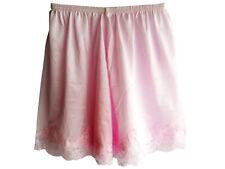 4 color New Nylon Shorts Slips Underwear Pettipants Lace Panties Women Men Pink