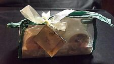 SPICED PEAR PEDICURE SET 3 ITEMS IN REUSABLE ZIPPERED BAG NEW FACTORY SEALED