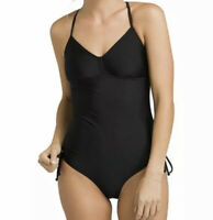NWT Prana Moorea One-Piece Black Solid Women's Swimsuit Size XS