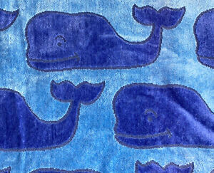 """Authentic VINEYARD VINES For Target Blue Whale Beach Towel NEW 38"""" X 68"""""""