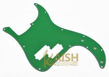 USA Spec Precision Bass P Bass Pickguard Scrach Plate Green 3 Ply for Fender