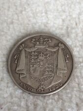More details for 1836 silver william iv half crown coin