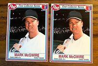 1990 Post Mark McGwire #12 - A's (2) NM