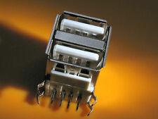 USB  Doppel Einbaubuchse, Kupplung Typ A Printmontage, 1Stück