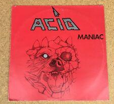 ACID Maniac  1983 Belgian manufactured vinyl LP EXCELLENT CONDITION   A