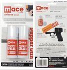 2 Mace POLICE PEPPER GUN Spray REFILL OC Cartridge Dual Pack Kit 4' INVISIBL DYE