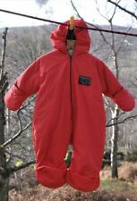 Capi d'abbigliamento da campeggio rosso per bambini