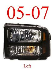 05 07 Super Duty Left Harley Davidson Head Light, F250 F350 Excursion FO2502224