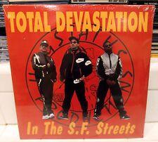 TOTAL DEVASTATION - 1990 SAN FRANCISCO HIP HOP ALBUM - SEALED