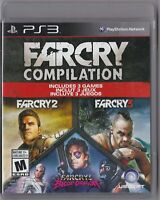 Far Cry Compilation (PS3, PlayStation 3, 2014)