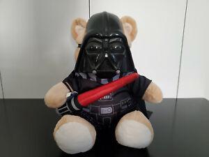 Build A Bear Star Wars Darth Vader Stuffed Plush & Lightsaber