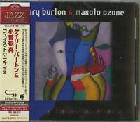 GARY BURTON & MAKOTO OZONE-FACE TO FACE-JAPAN SHM-CD D50