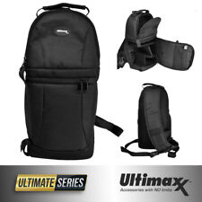 ULTIMAXX Water Resistant Camera Sling Backpack for DSLR Cameras Mavic 2 Pro/Zoom