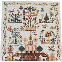 Cooper-Hewitt Smithsonian Institution Museum Cross Stitch Sampler Kit Stamped