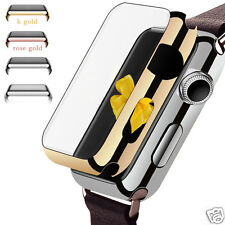 Ultra-Slim Electroplate Metal Hard Case Cover For iWatch Apple Watch 38mm & 42mm