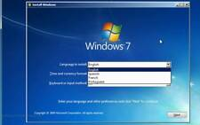 WINDOWS 7 ALL VERSIONS 32-64 BIT INSTALLATION/REPAIR W/DRIVER PACK