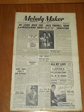MELODY MAKER 1948 #798 NOV 20 JAZZ SWING VIC LEWIS JACK PARNELL TEDDY FOSTER