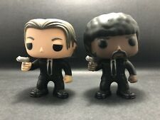 Funko Pop Vinyl VINCENT VEGA #61 and JULES #62 PULP FICTION SET (Rare) No Boxes