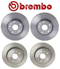 For Toyota Lexus RX300 Pair Set of 2 Rear Brake Disc Rotors 288mm Solid Brembo