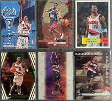 Scottie Pippen (Rockets/Trail Blazers)  6 Basketball-Insert-Card Lot