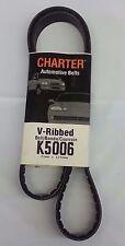 Serpentine Belt-Automotive V-Ribbed Belt (Standard) Gates Charter K5006
