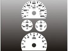 2007-2014 Chevrolet Silverado Yukon Dash Instrument Cluster White Face Gauges