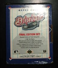 New1991 Edition Upper Deck Baseball Cards Collectors Choice Box Factory Sealed