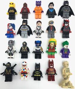 Lego New Super Hero DC Comics Minifigures Batman Cat-woman More YOU PICK!