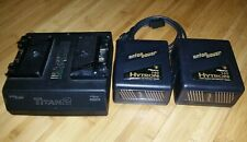 Anton Bauer T2 InterActive Logic Charger and Two Hytron 140 Big Video Battery