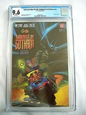 DC Comics BATMAN/JUDGE DREDD: JUDGMENT ON GOTHAM CGC 9.6 NM+ White Pages 1991