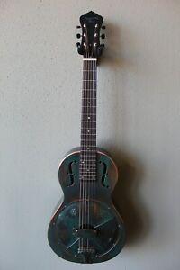 Brand New Recording King RM-993-VG Metal Body Parlor Resonator Guitar