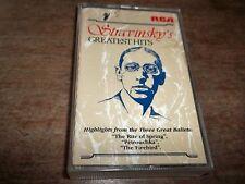 1990 CASSETTE  STRAVINSKY GREATEST HITS- GK89785-AS NEW