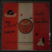 "♫ 10"" 1956 Freddy Quinn SO GEHT DAS JEDE NACHT Polydor 50223 Autogramm WIDMUNG ♫"