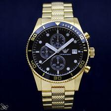 EMPORIO ARMANI reloj de hombre AR5857 color: Oro Amarillo Cronógrafo