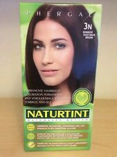 Naturtint Permanent Colourant Dye Hair 4 packs X 165ml Dark Chestnut Brown 3N