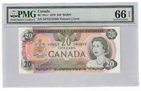 Canada $20 Banknote 1979 BC-54c-i PMG GEM UNC 66 EPQ