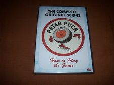 Peter Puck  How to Play the Game DVD 2007 CBC'S Hockey Night In Canada