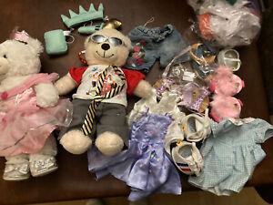 Build A Bear Bundle - Clothes, Shoes, Accessories