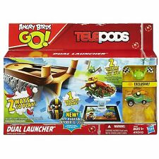 ANGRY BIRDS GO! TELEPODS LAUNCHER - NEW