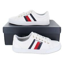 Tommy Hilfiger Women's Lightz White Synthetic fashion-sneakers